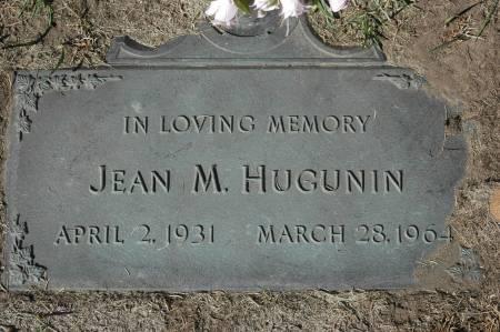HUGUNIN, JEAN M. - Clinton County, Iowa   JEAN M. HUGUNIN