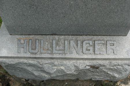 HULLINGER, FAMILY MONUMENT - Clinton County, Iowa | FAMILY MONUMENT HULLINGER
