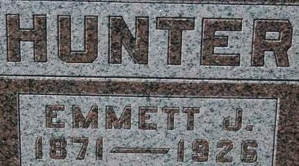 HUNTER, EMMETT J. - Clinton County, Iowa | EMMETT J. HUNTER
