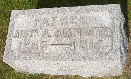 HUNTINGTON, ALVIN - Clinton County, Iowa | ALVIN HUNTINGTON