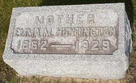 HUNTINGTON, EMMA M. - Clinton County, Iowa | EMMA M. HUNTINGTON