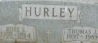 HURLEY, ROSE E. - Clinton County, Iowa | ROSE E. HURLEY