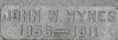 HYNES, JOHN W. - Clinton County, Iowa | JOHN W. HYNES