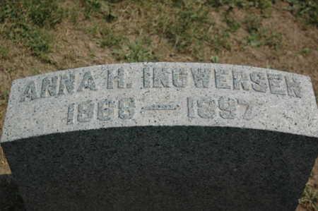 INGWERSEN, ANNA H. - Clinton County, Iowa | ANNA H. INGWERSEN