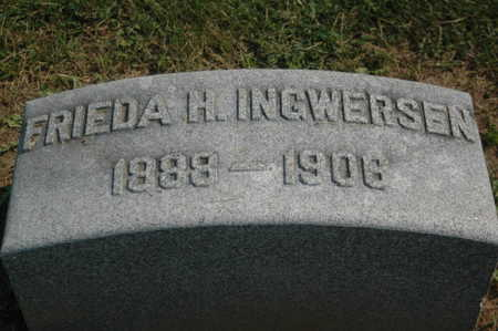 INGWERSEN, FRIEDA H. - Clinton County, Iowa | FRIEDA H. INGWERSEN