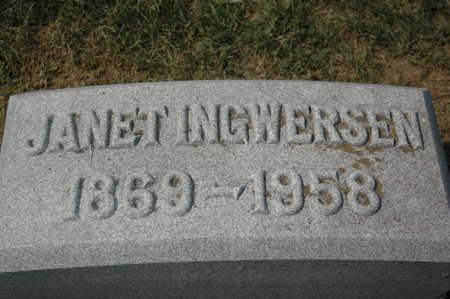 INGWERSEN, JANET - Clinton County, Iowa | JANET INGWERSEN