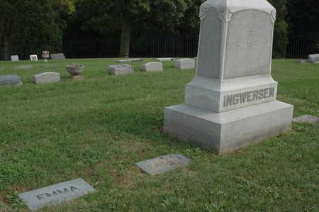 INGWERSEN, MONUMENTS - Clinton County, Iowa | MONUMENTS INGWERSEN