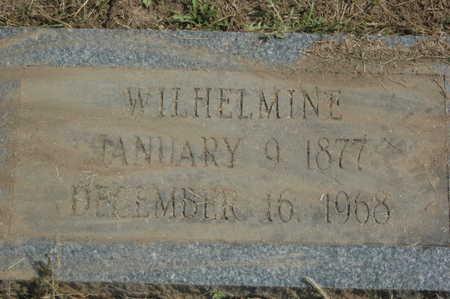 INGWERSEN, WILHELMINE - Clinton County, Iowa   WILHELMINE INGWERSEN
