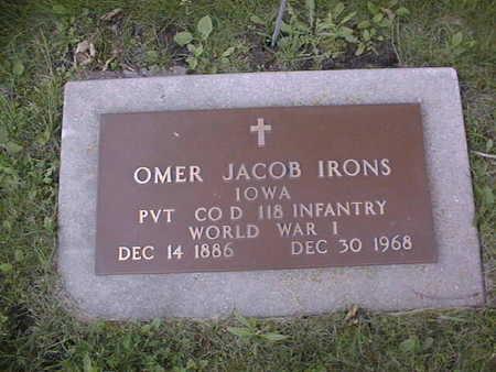 IRONS, OMER JACOB - Clinton County, Iowa | OMER JACOB IRONS