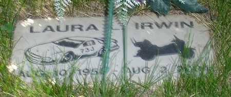 IRWIN, LAURA - Clinton County, Iowa   LAURA IRWIN