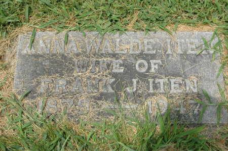 WALDE ITEN, ANNA - Clinton County, Iowa | ANNA WALDE ITEN