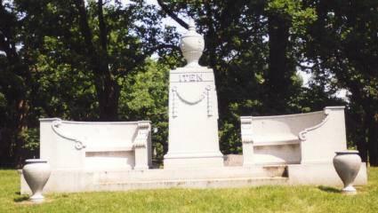 ITEN, FAMILY MONUMENT - Clinton County, Iowa | FAMILY MONUMENT ITEN