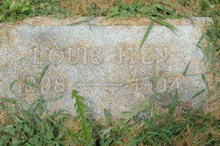 ITEN, LOUIS - Clinton County, Iowa   LOUIS ITEN