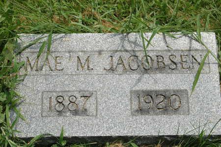 JACOBSEN, MAE M. - Clinton County, Iowa   MAE M. JACOBSEN