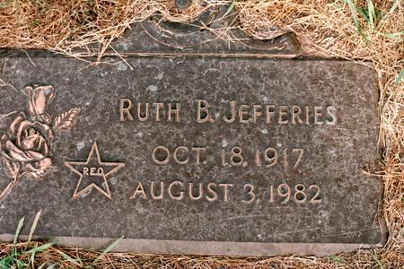 BOHNSON JEFFERIES, RUTH CATHERINE