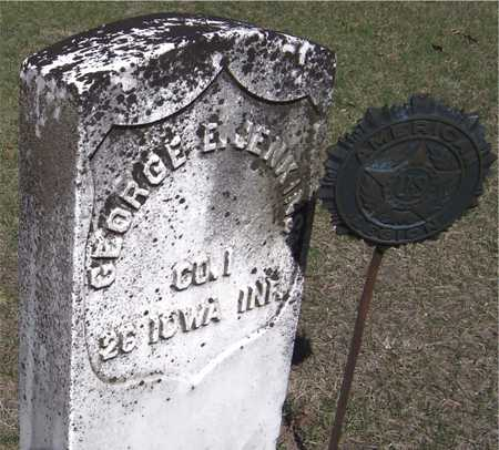 JENKINS, GEORGE E. - Clinton County, Iowa | GEORGE E. JENKINS