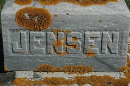 JENSEN, FAMILY MONUMENT - Clinton County, Iowa   FAMILY MONUMENT JENSEN