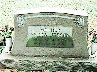 JESSEN, FREDA - Clinton County, Iowa | FREDA JESSEN