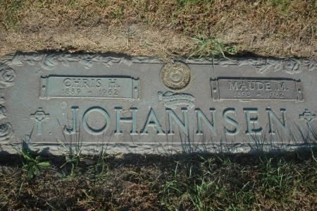JOHANNSEN, CHRIS H. - Clinton County, Iowa | CHRIS H. JOHANNSEN