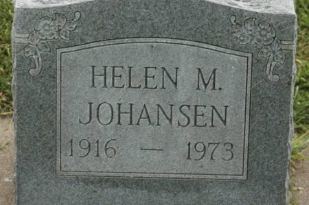 JOHANSEN, HELEN M. - Clinton County, Iowa | HELEN M. JOHANSEN