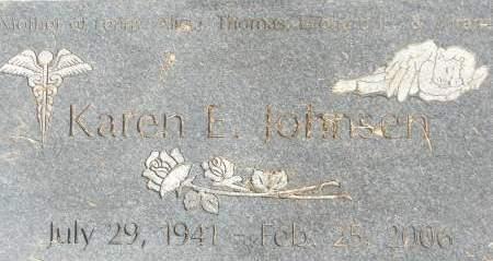 JOHNSEN, KAREN E. - Clinton County, Iowa | KAREN E. JOHNSEN