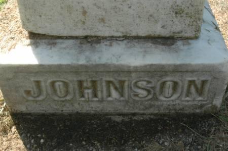JOHNSON, FAMILY MONUMENT - Clinton County, Iowa   FAMILY MONUMENT JOHNSON