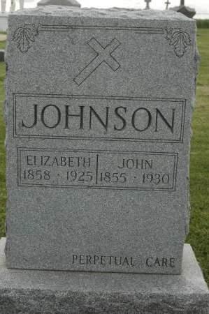 JOHNSON, ELIZABETH - Clinton County, Iowa | ELIZABETH JOHNSON