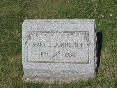 JOHNSTON, MARY - Clinton County, Iowa   MARY JOHNSTON