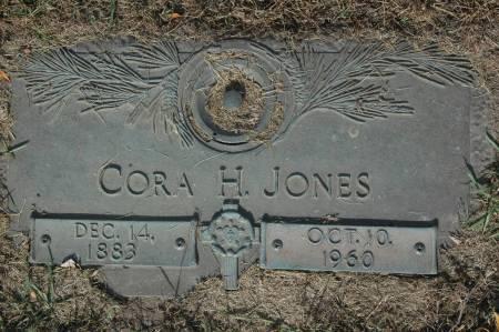 JONES, CORA H. - Clinton County, Iowa   CORA H. JONES