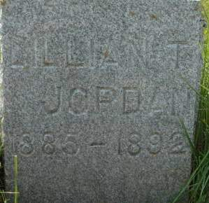 JORDAN, LILLIAN T. - Clinton County, Iowa | LILLIAN T. JORDAN