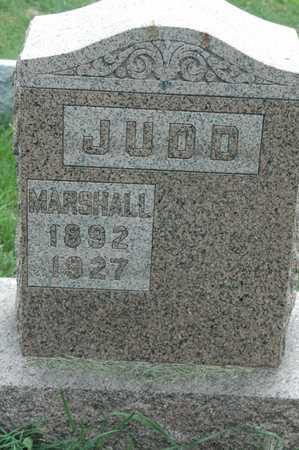 JUDD, MARSHALL - Clinton County, Iowa   MARSHALL JUDD
