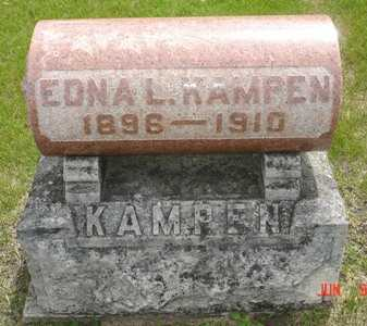 KAMPEN, EDNA L. - Clinton County, Iowa   EDNA L. KAMPEN