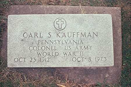 KAUFFMAN, CARL S. - Clinton County, Iowa | CARL S. KAUFFMAN