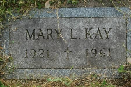 KAY, MARY L. - Clinton County, Iowa | MARY L. KAY