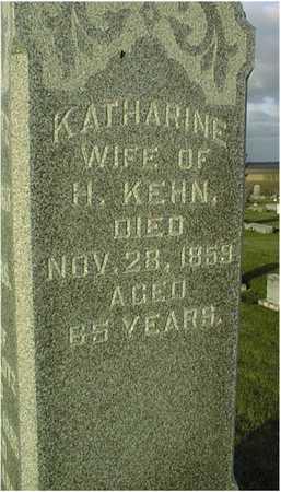 KEHN, KATHARINE - Clinton County, Iowa | KATHARINE KEHN