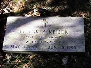 KEISER, FRANK K - Clinton County, Iowa | FRANK K KEISER