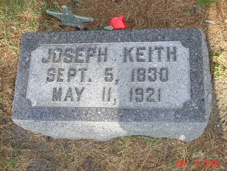 KEITH, JOSEPH - Clinton County, Iowa | JOSEPH KEITH