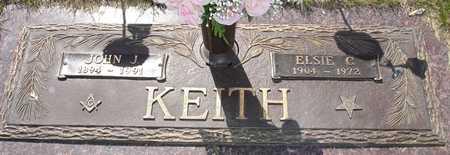 KEITH, ELSIE C. - Clinton County, Iowa   ELSIE C. KEITH