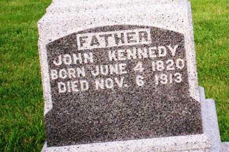 KENNEDY, JOHN - Clinton County, Iowa | JOHN KENNEDY