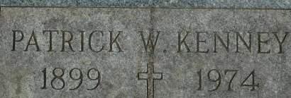 KENNEY, PATRICK W. - Clinton County, Iowa | PATRICK W. KENNEY