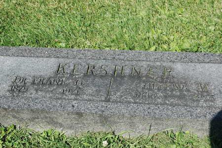 KERSHNER, FRANK O. - Clinton County, Iowa | FRANK O. KERSHNER