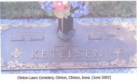 KETELSEN, VELVA JANE - Clinton County, Iowa | VELVA JANE KETELSEN