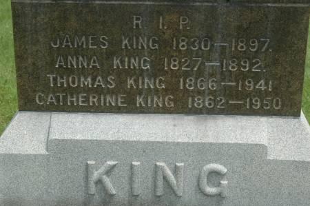 KING, ANNA - Clinton County, Iowa | ANNA KING