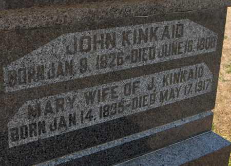 KINKAID, MARY - Clinton County, Iowa | MARY KINKAID