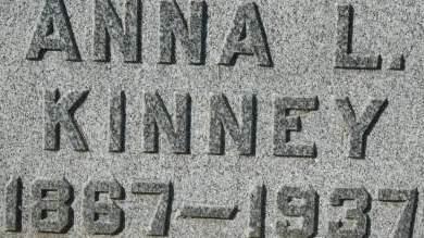 KINNEY, ANNA L. - Clinton County, Iowa | ANNA L. KINNEY
