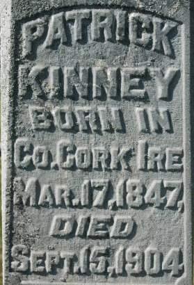 KINNEY, PATRICK - Clinton County, Iowa   PATRICK KINNEY