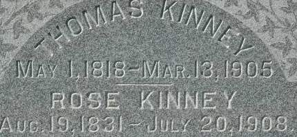 KINNEY, THOMAS - Clinton County, Iowa | THOMAS KINNEY