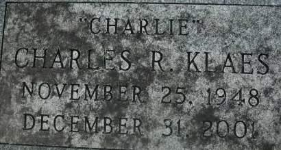 KLAES, CHARLES R. - Clinton County, Iowa | CHARLES R. KLAES