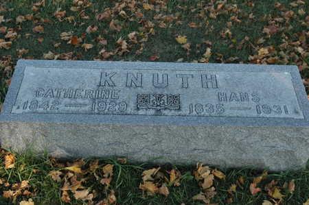 KNUTH, HANS - Clinton County, Iowa | HANS KNUTH