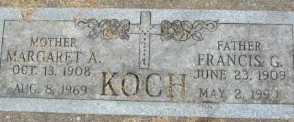 KOCH, FRANCIS G. - Clinton County, Iowa | FRANCIS G. KOCH
